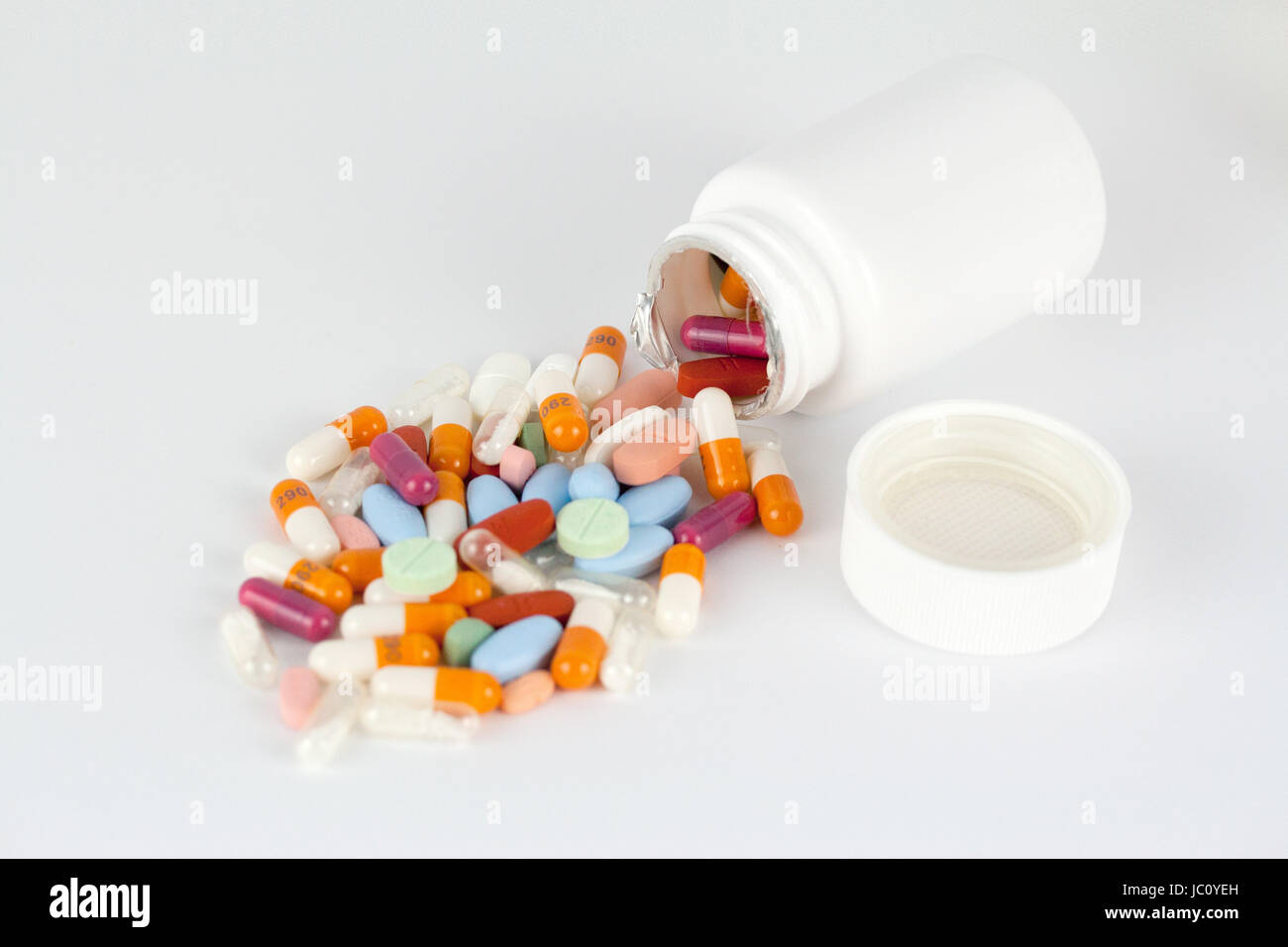 vitamins vitamines Stock Photo