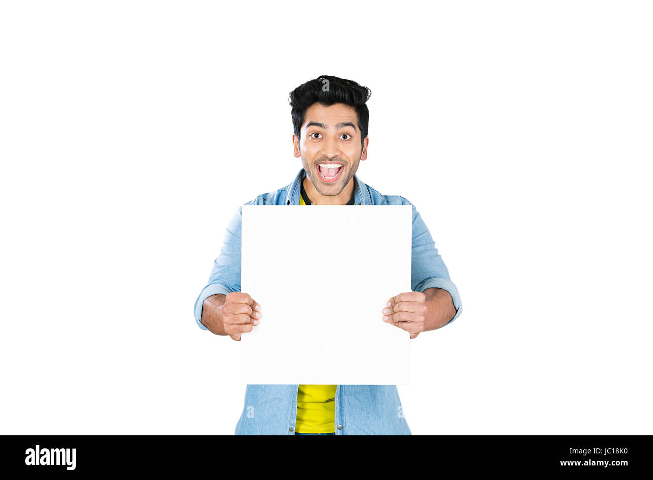 College Discount Message Board Showing Student Cheerful - Stock Image