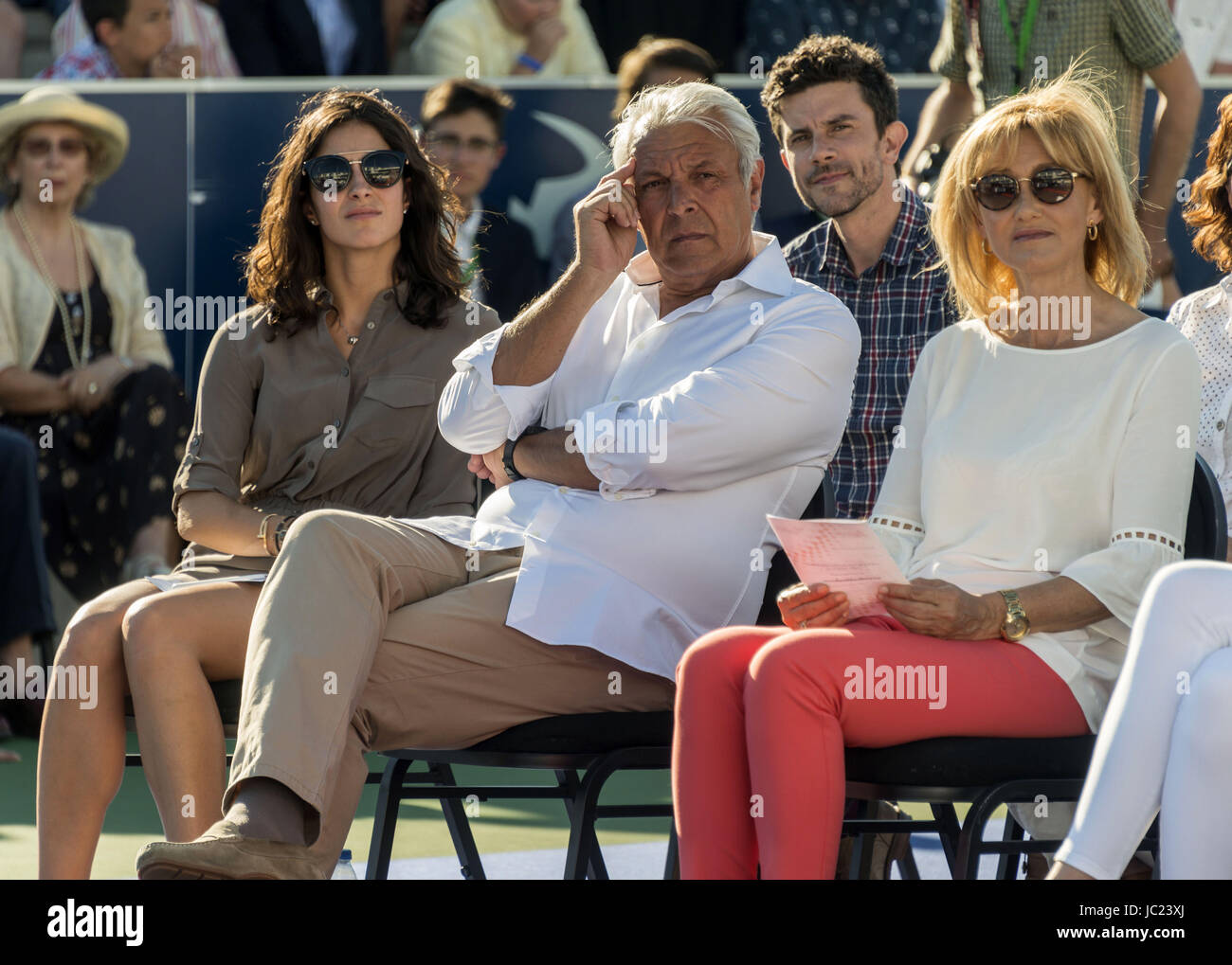 Mallorca Spain 13th Jun 2017 Spanish Tennis Player Rafael Nadal S Stock Photo Alamy