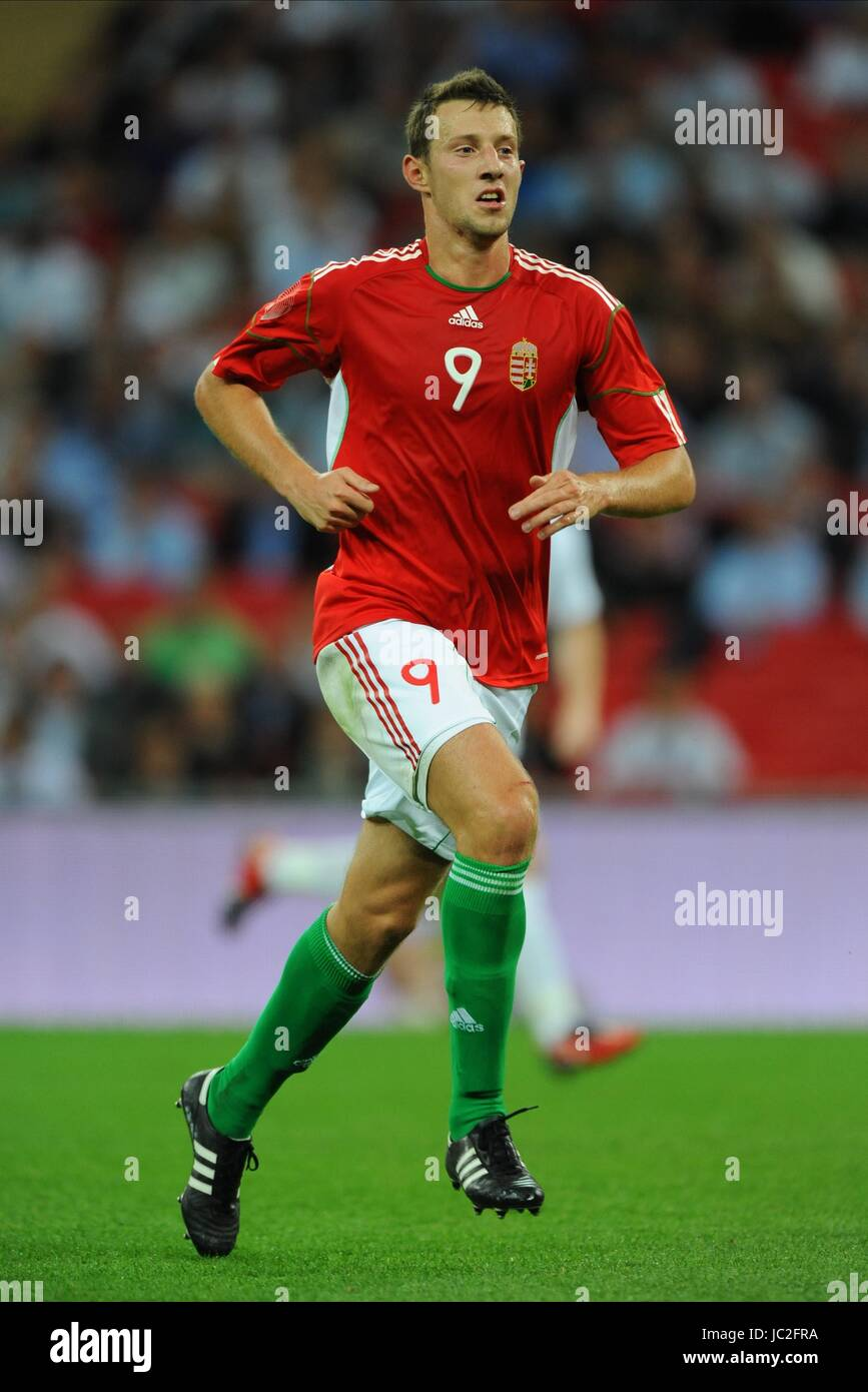 AKOS ELEK HUNGARY WEMBLEY STADIUM LONDON ENGLAND 11 August 2010 - Stock Image