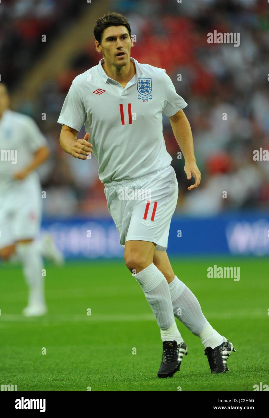 GARETH BARRY ENGLAND WEMBLEY STADIUM LONDON ENGLAND 11 August 2010 - Stock Image