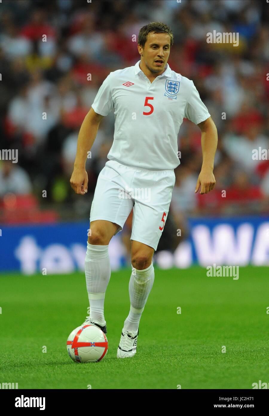 PHIL JAGIELKA ENGLAND WEMBLEY STADIUM LONDON ENGLAND 11 August 2010 - Stock Image