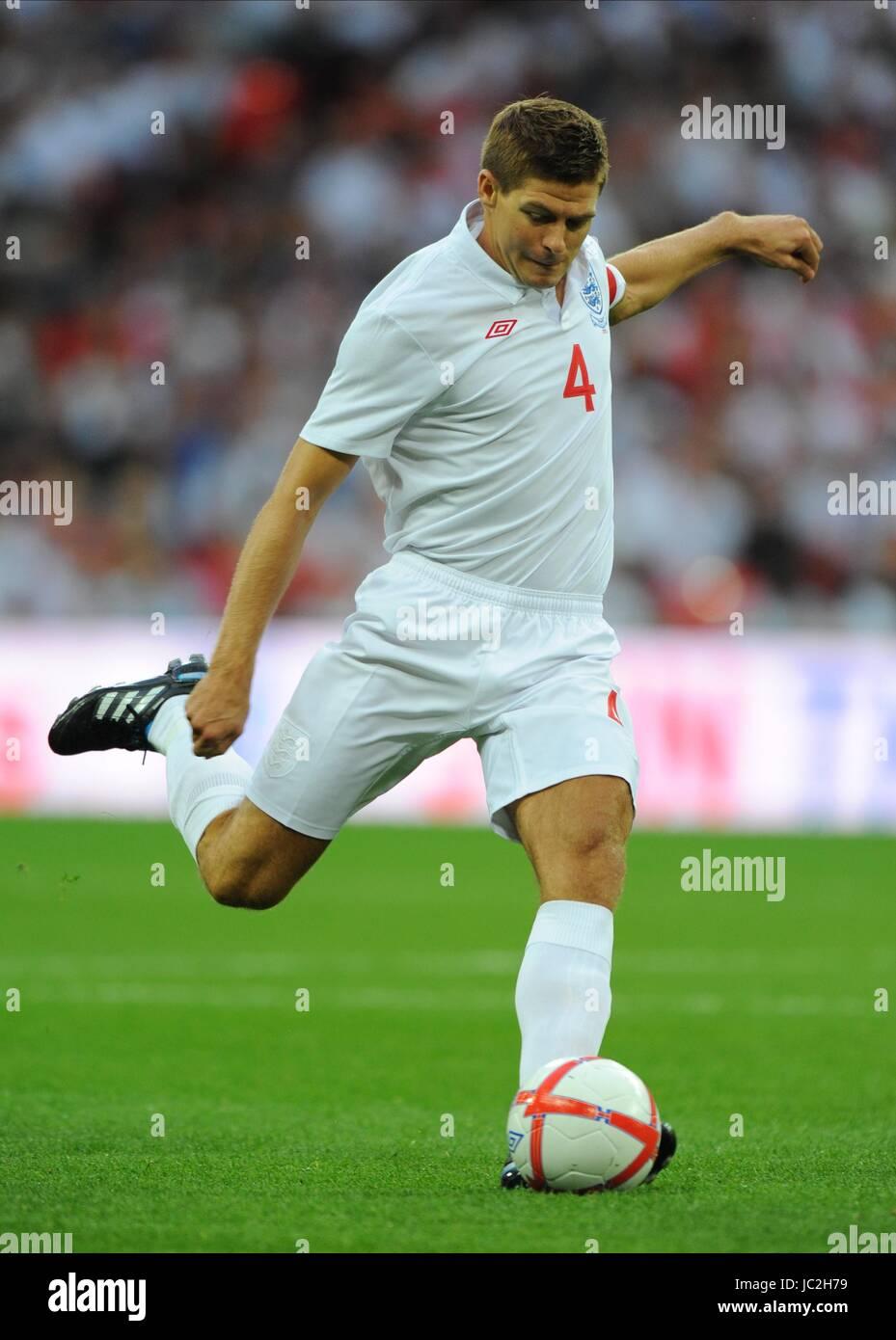 STEVEN GERRARD, ENGLAND, ENGLAND V HUNGARY, INTERNATIONAL FRIENDLEY, 2010 - Stock Image