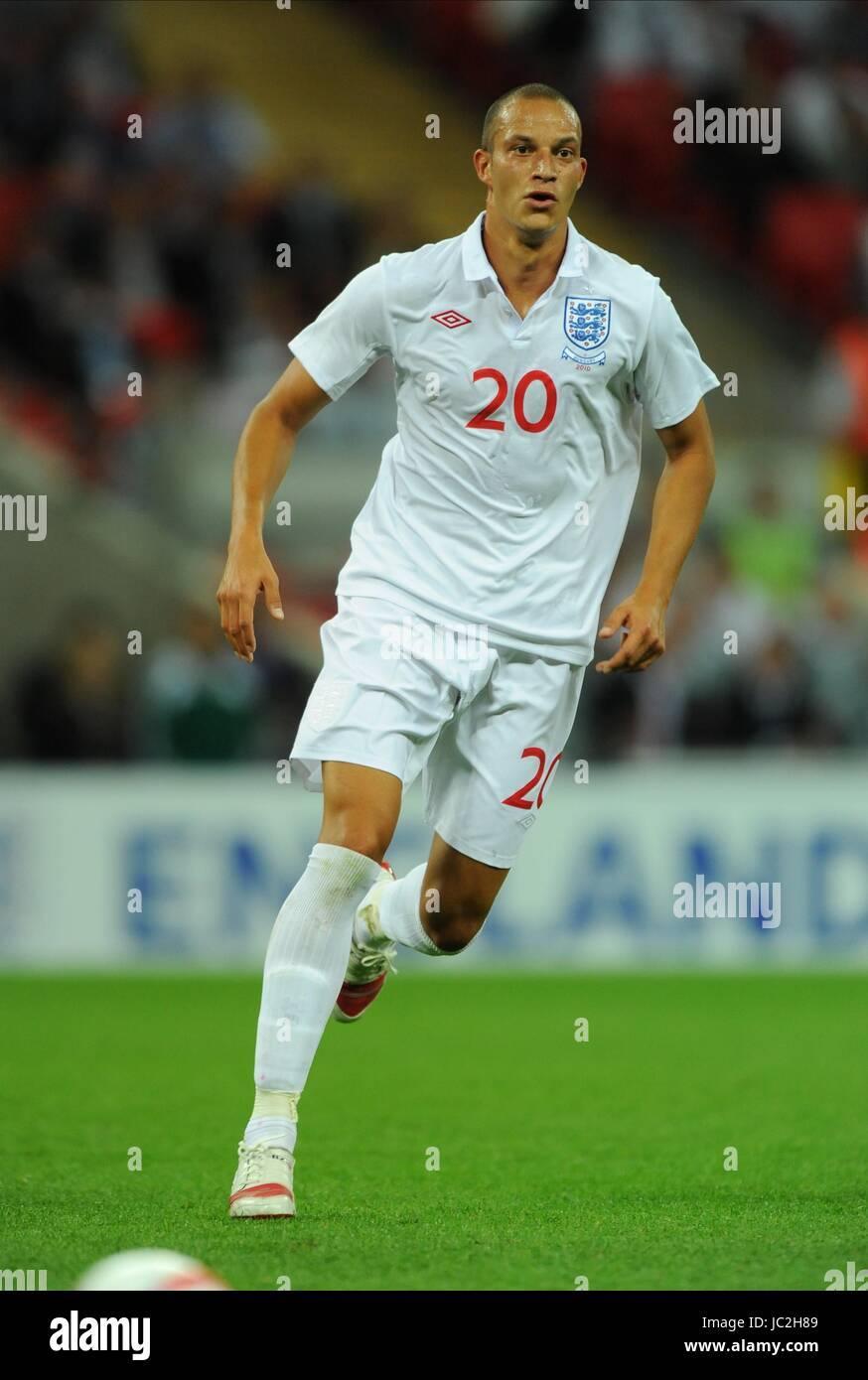 BOBBY ZAMORA ENGLAND WEMBLEY STADIUM LONDON ENGLAND 11 August 2010 - Stock Image