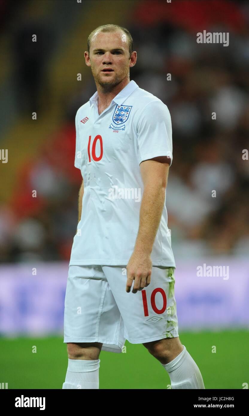 WAYNE ROONEY, ENGLAND, ENGLAND V HUNGARY, INTERNATIONAL FRIENDLEY, 2010 - Stock Image