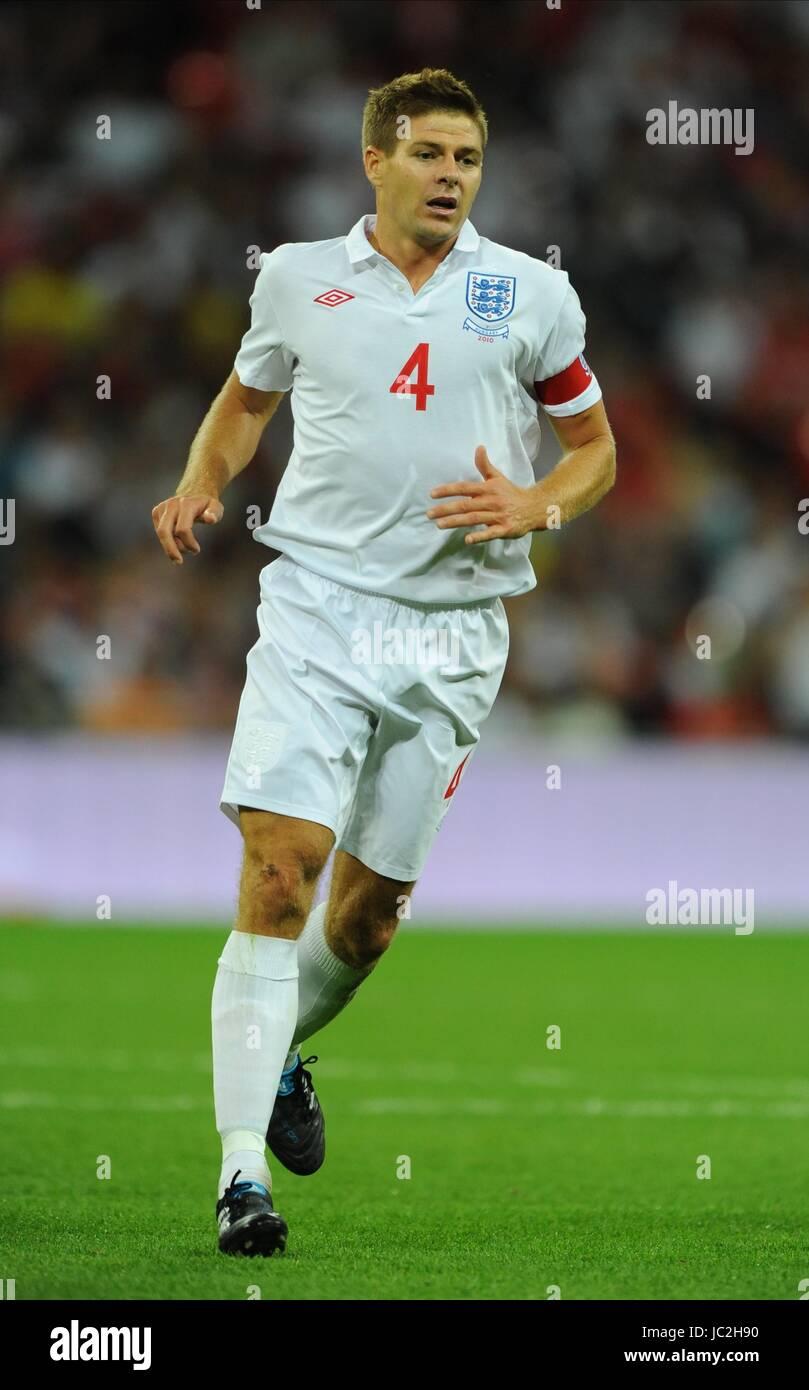 STEVEN GERRARD, ENGLAND, ENGLAND V HUNGARY, INTERNATIONAL FRIENDLEY, 2010 Stock Photo