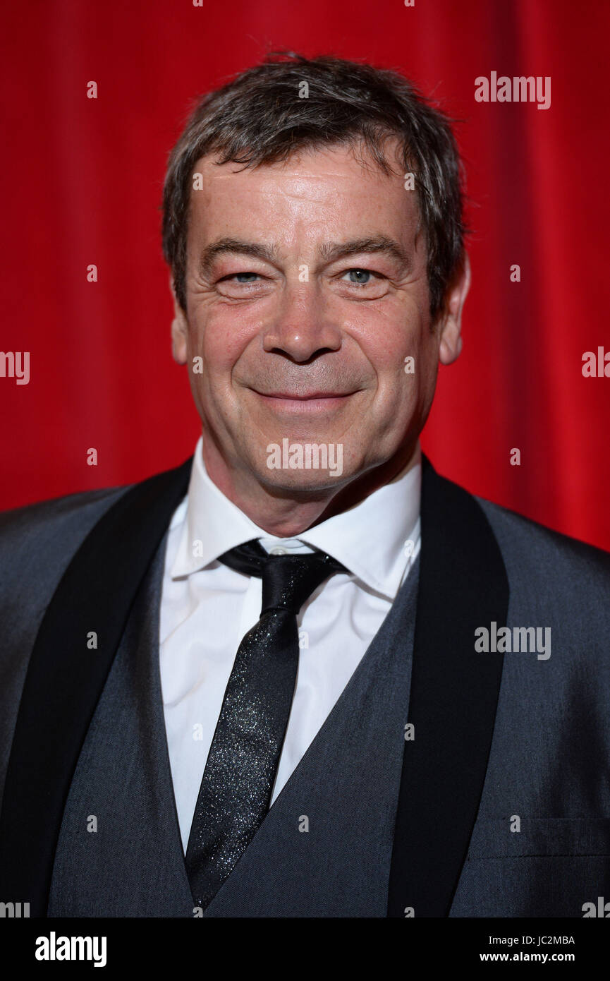 File photo dated 03/06/17 of Coronation Street actor Richard Hawley who has said the experience of playing a character - Stock Image