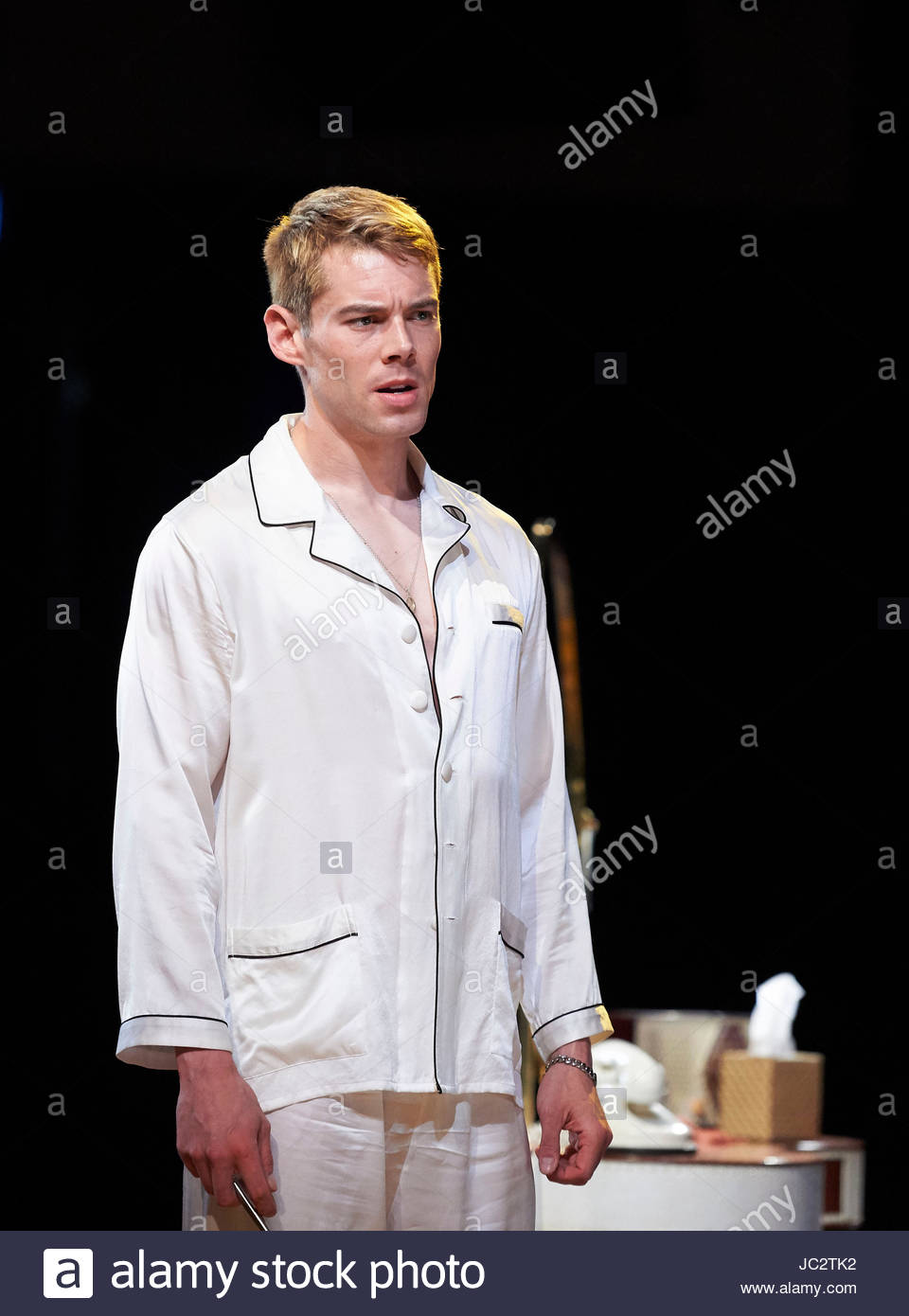 Sweet Bird Of Youth by Tennessee Williams, directed by Jonathan Kent. With Brian J smith as Chance Wayne. Opens - Stock Image