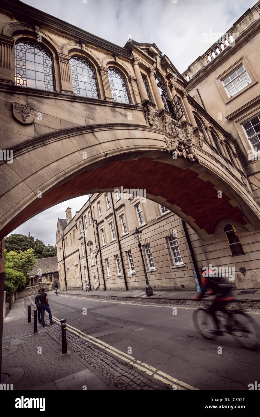 Buildings of Oxford university - Stock Image