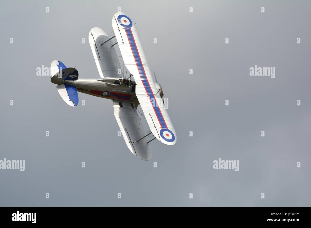 Booster gladiator bi plane fighter - Stock Image