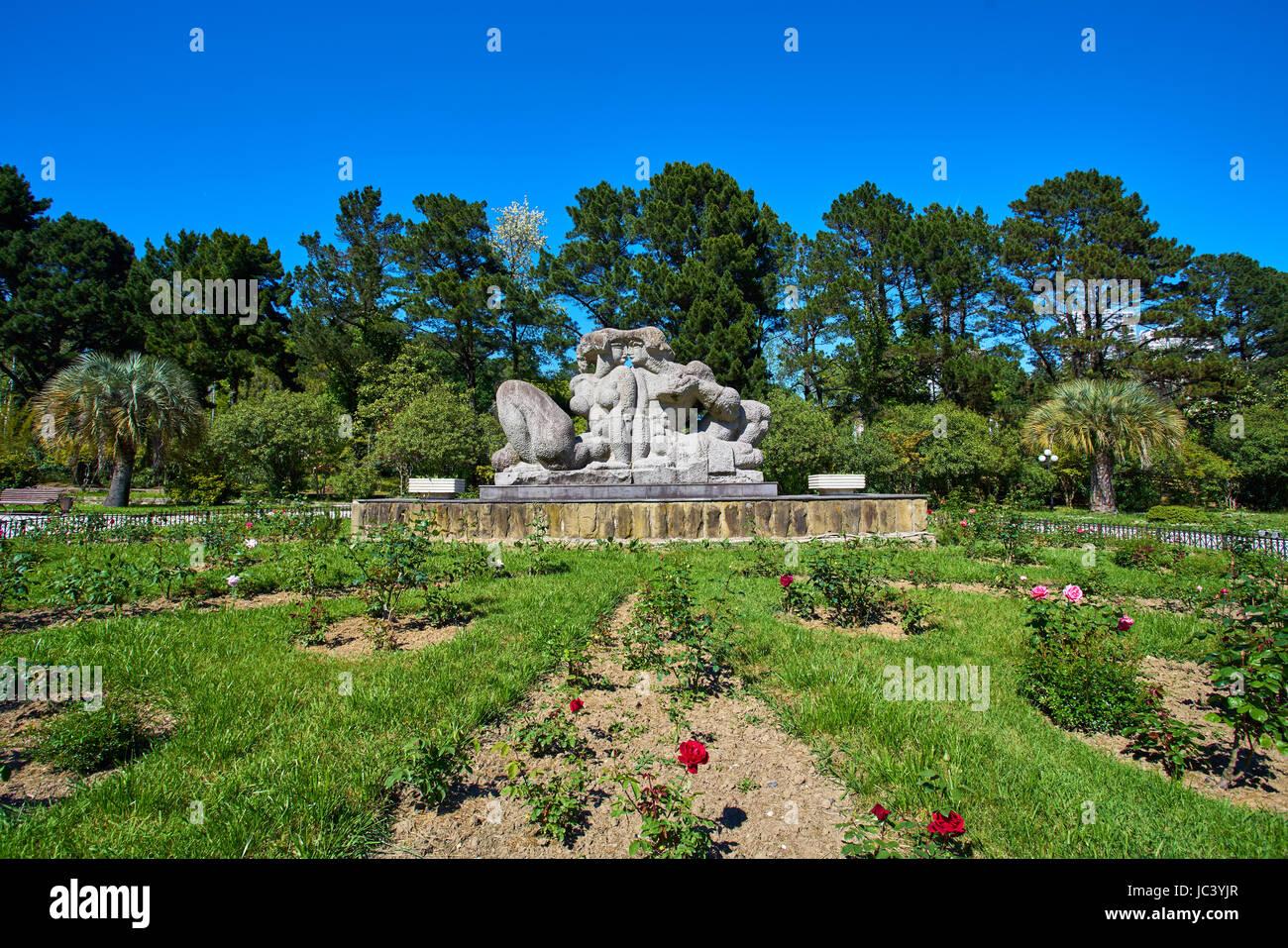 Sochi Arboretum is a museum of nature 39