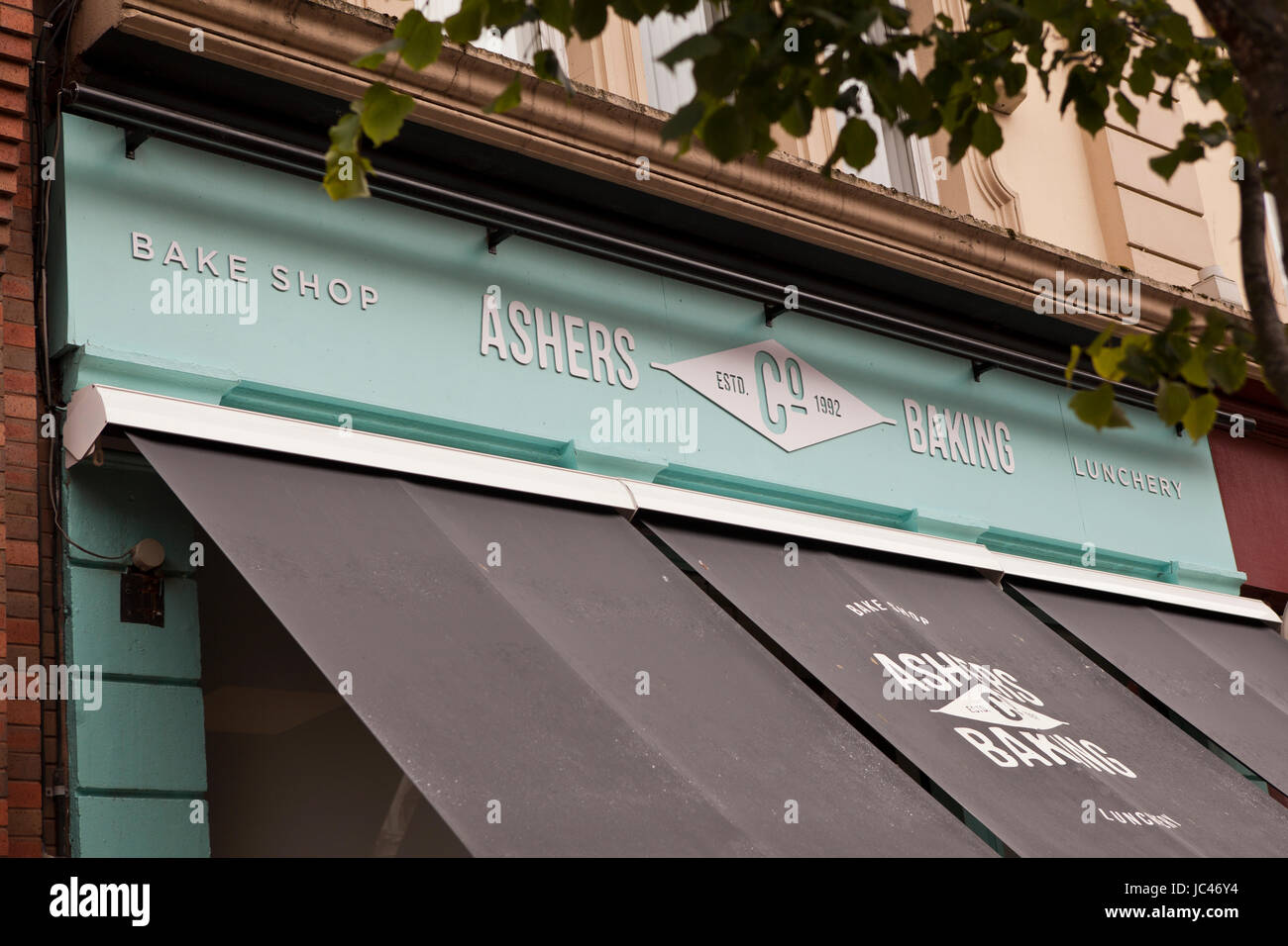 Royal Avenue, Belfast 13th June 2017. Ashers Bakery shop in Belfast - Stock Image