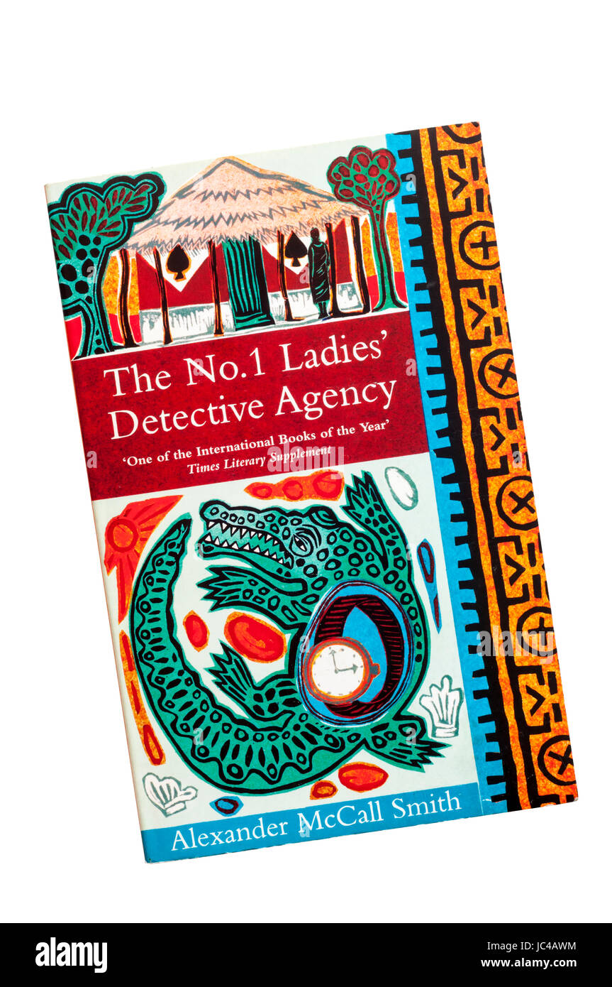 A paperback copy of The No. 1 Ladies' Detective Agency by Alexander McCall Smith.  First published in 1998. - Stock Image