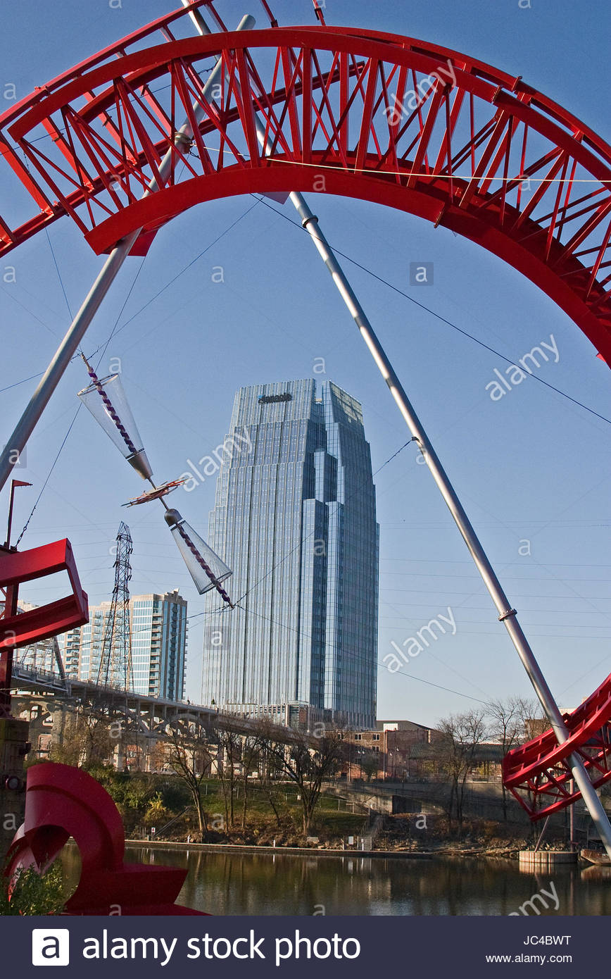 Pinnacle building in Nashville, Tennessee - Stock Image