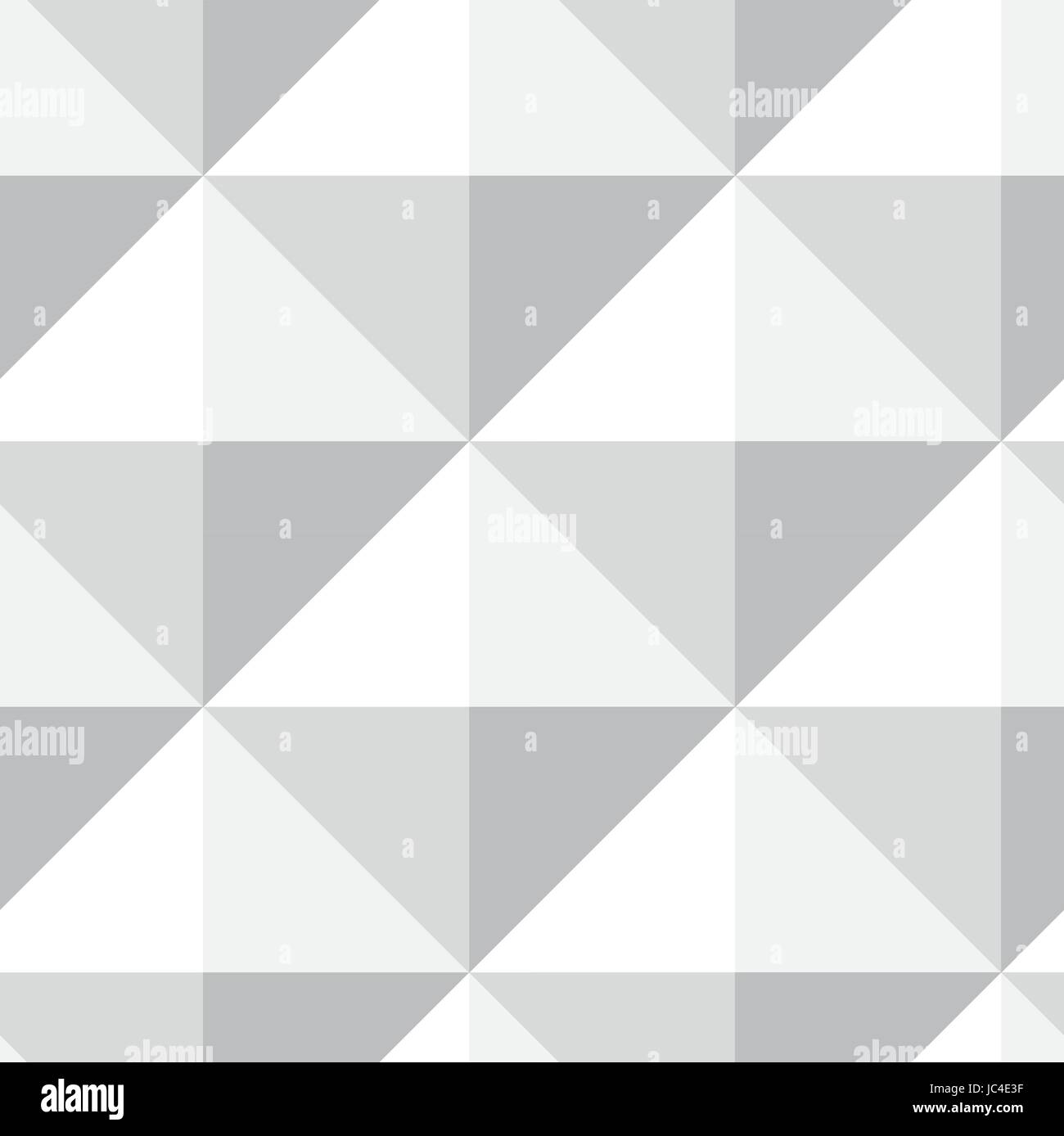 Pyramid pattern seamless design in gray - white color. Vector ...