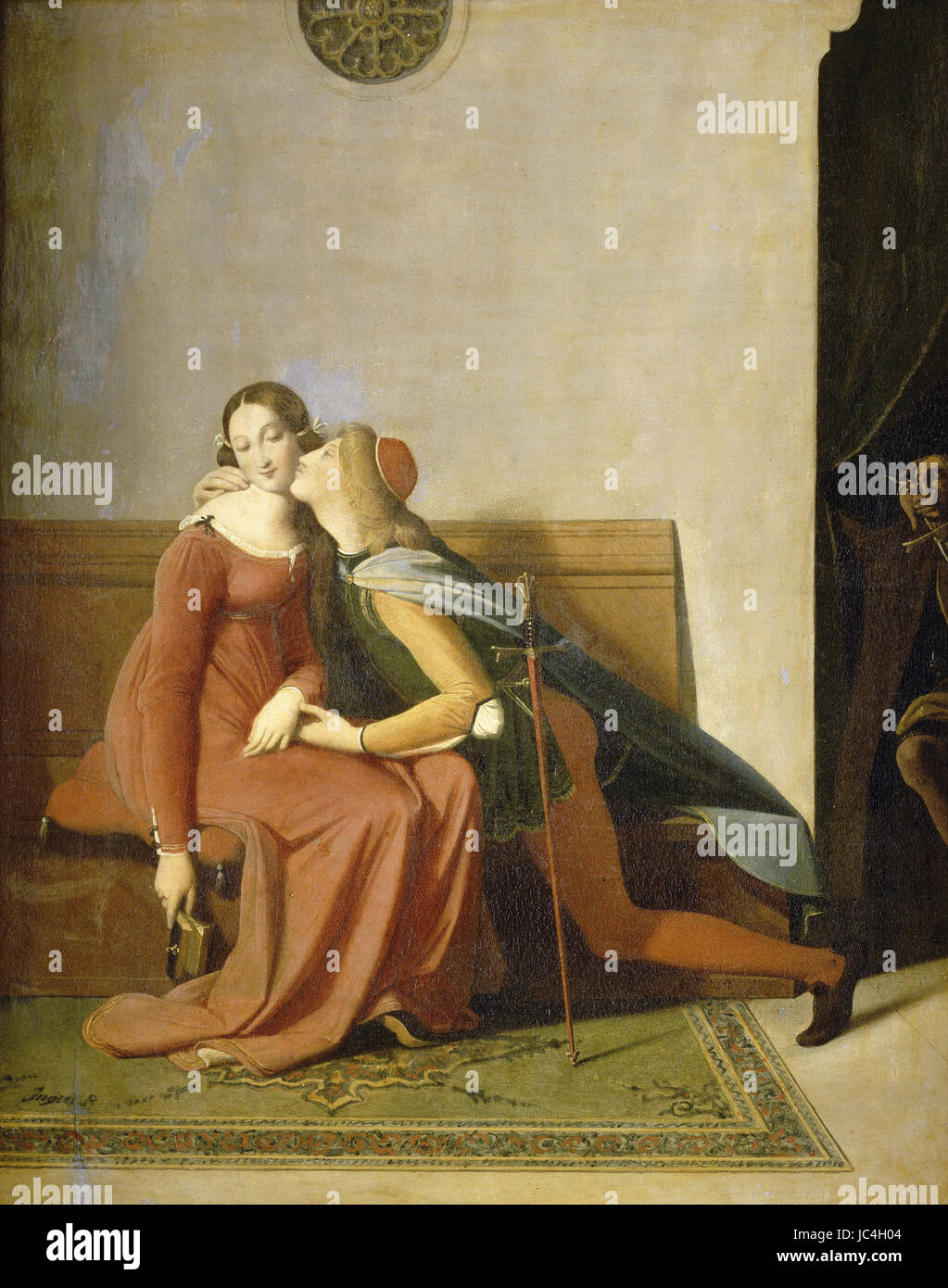 Piero della Francesca - Paolo and Francesca Stock Photo