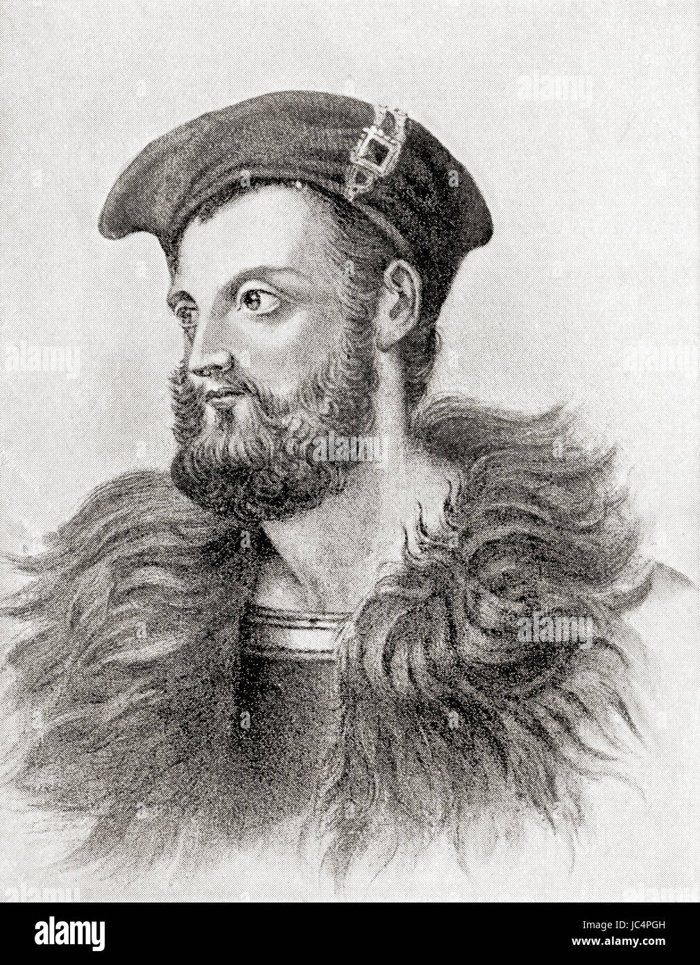 Owen Roe O'Neill, c. 1585 – 1649.  Seventeenth-century soldier and one of the most famous of the O'Neill - Stock Image