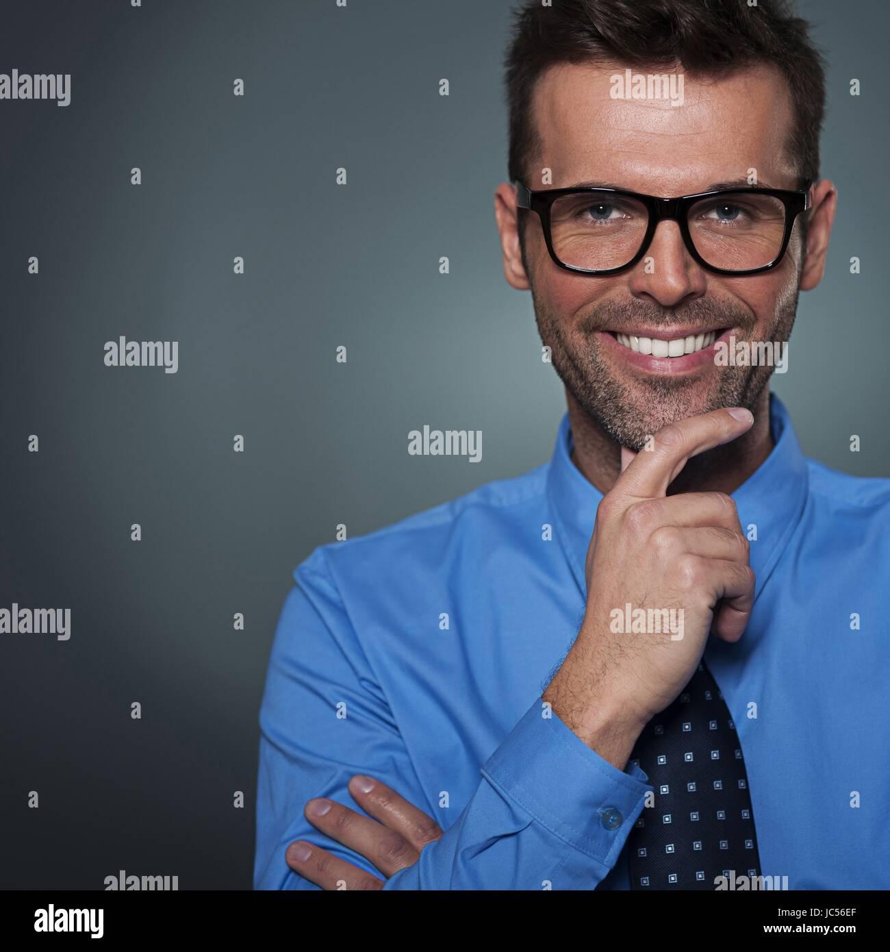 smiles career - Stock Image