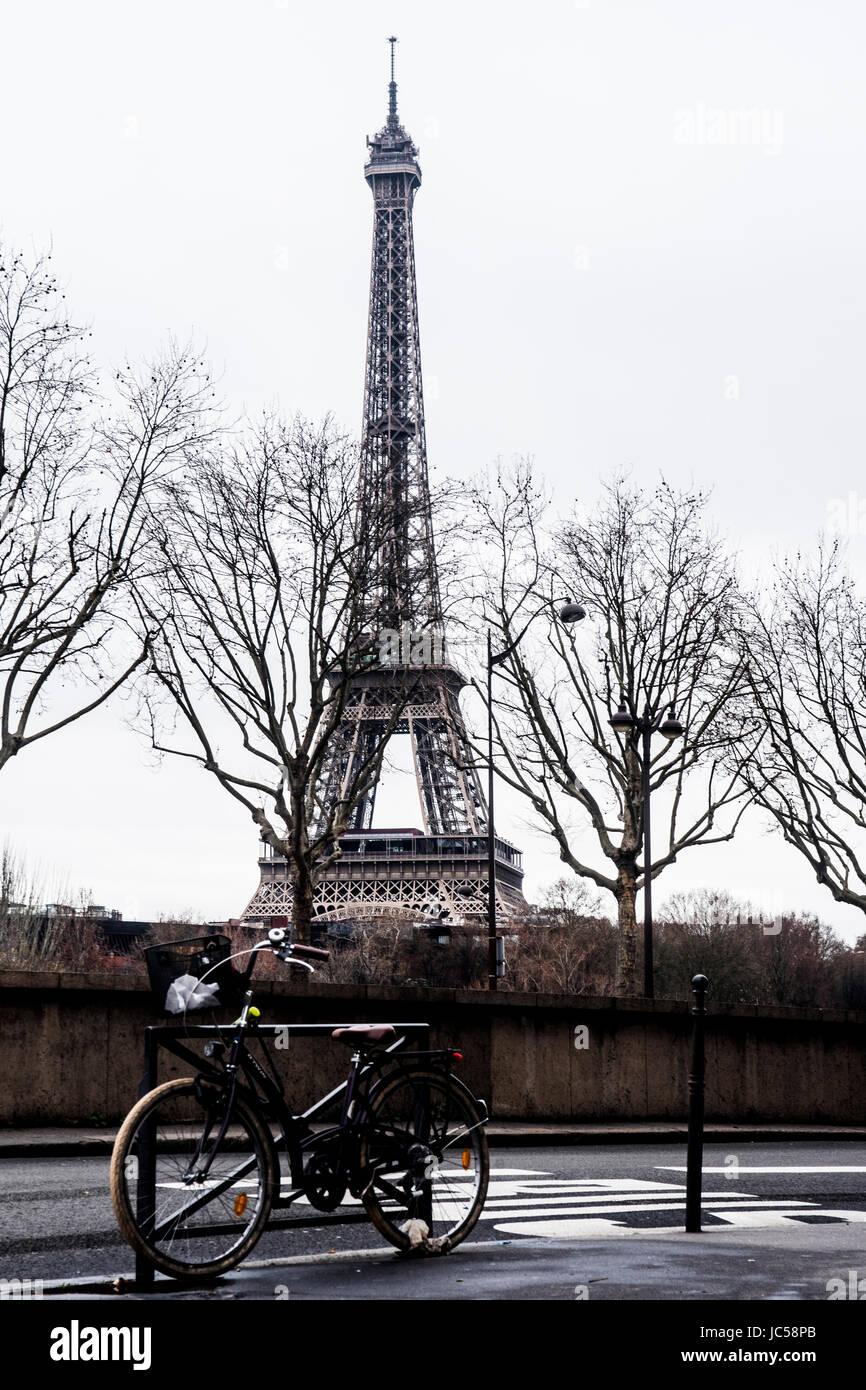 strada parigina - Stock Image