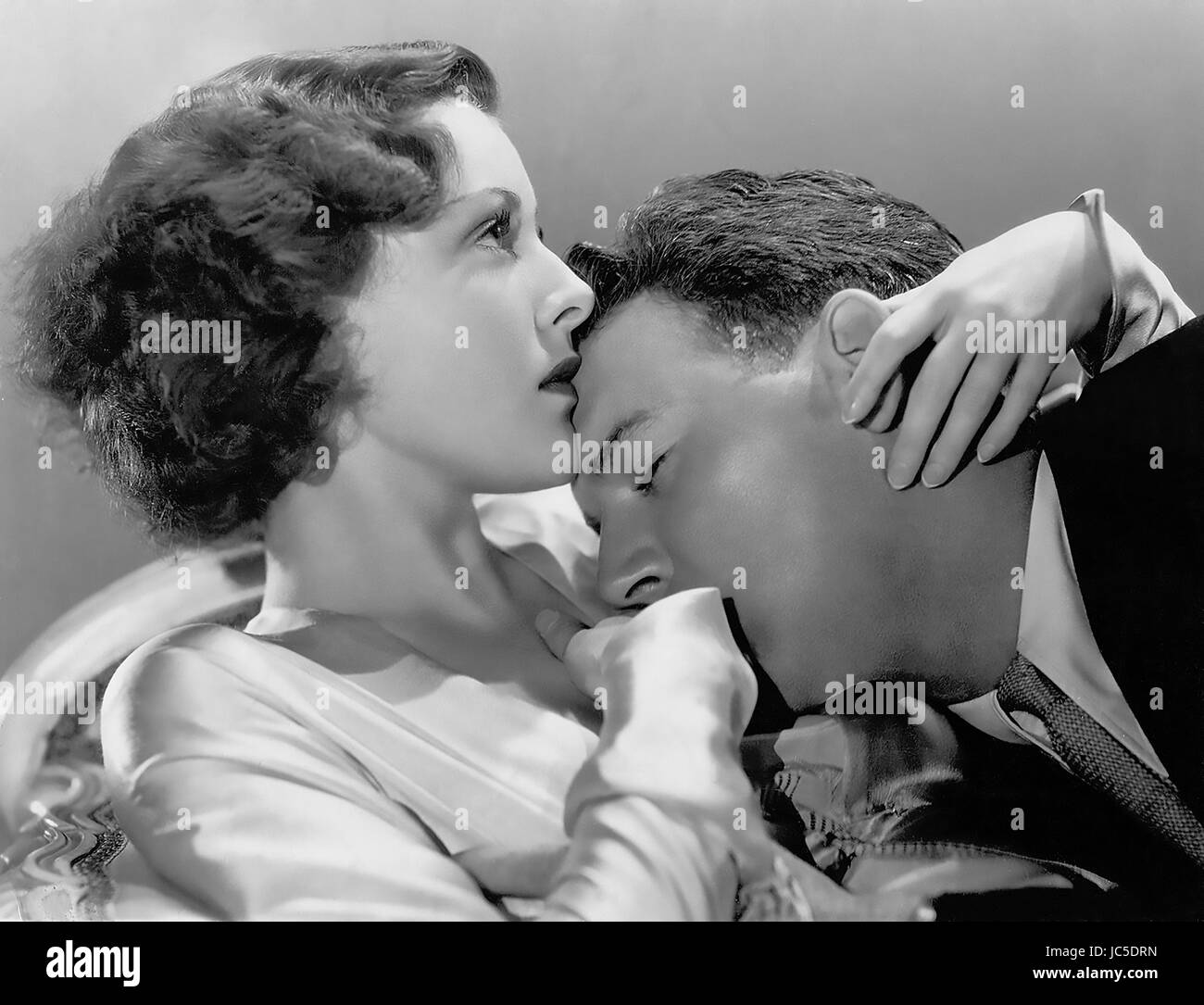 HEADLINE SHOOTER 1933 RKO Radio Pictures film with Frances Dee and William Gargan - Stock Image