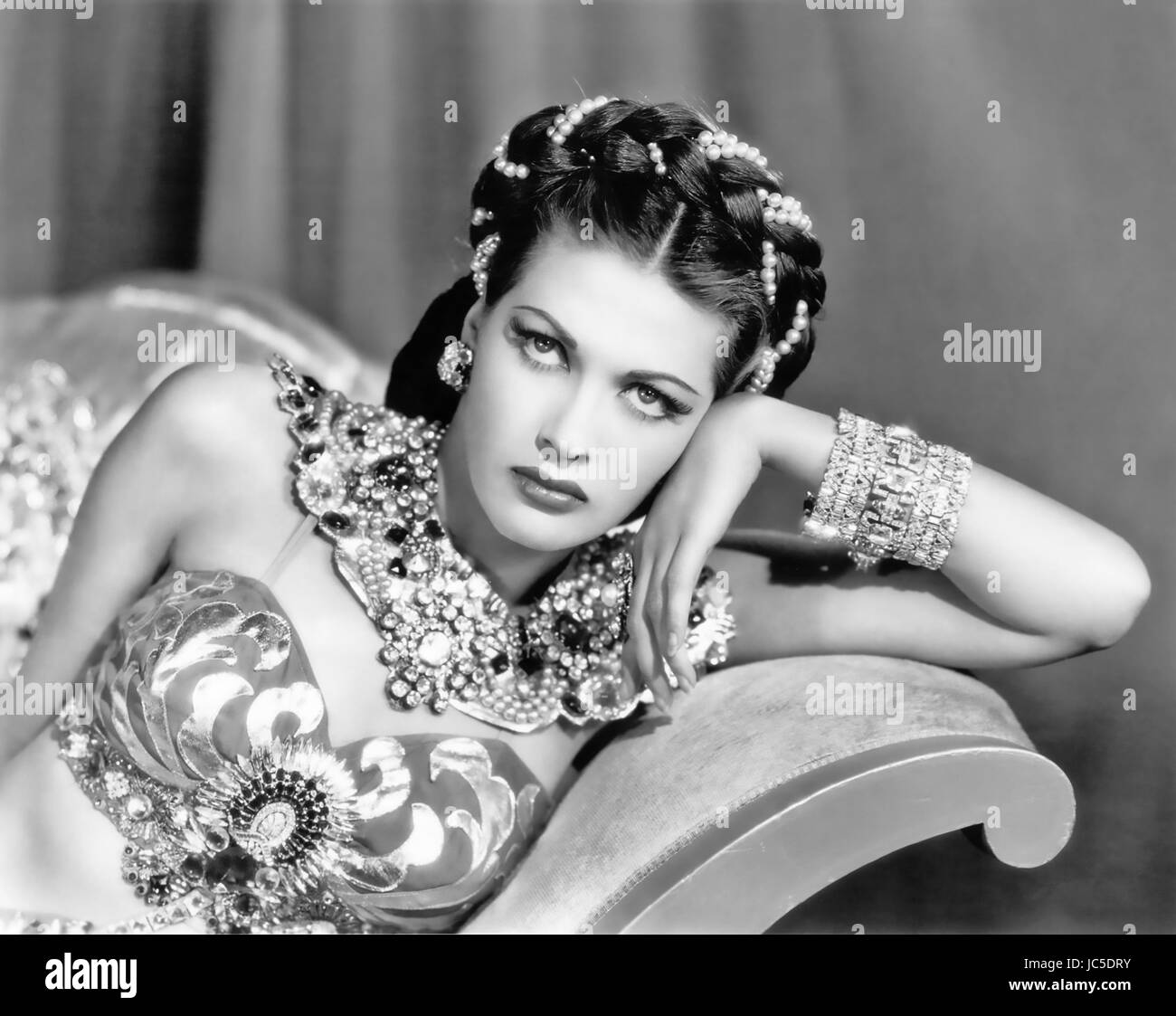 SONG OF SCHEHERAZADE 1947 Universal Pictures musical with Yvonne De Carlo - Stock Image