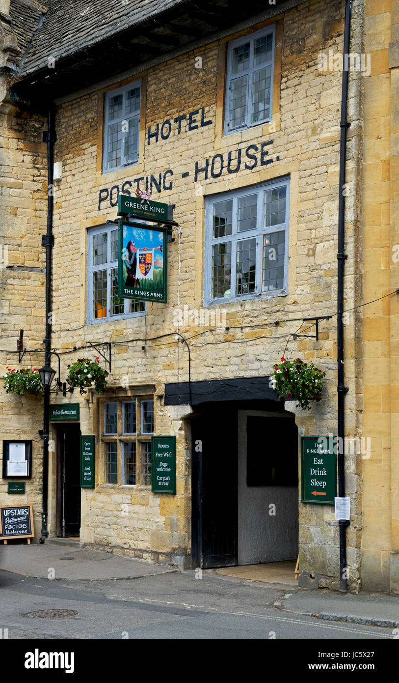 Stow-on-the-Wold, Cotswolds, Gloucestershire, England UK - Stock Image