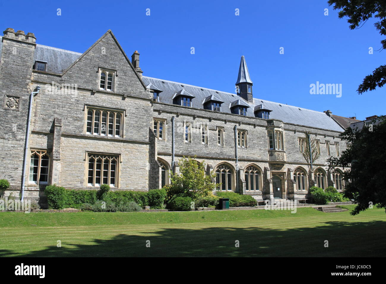 University House, Bishop Otter Campus, University of Chichester, Chichester, West Sussex, England, Great Britain, - Stock Image