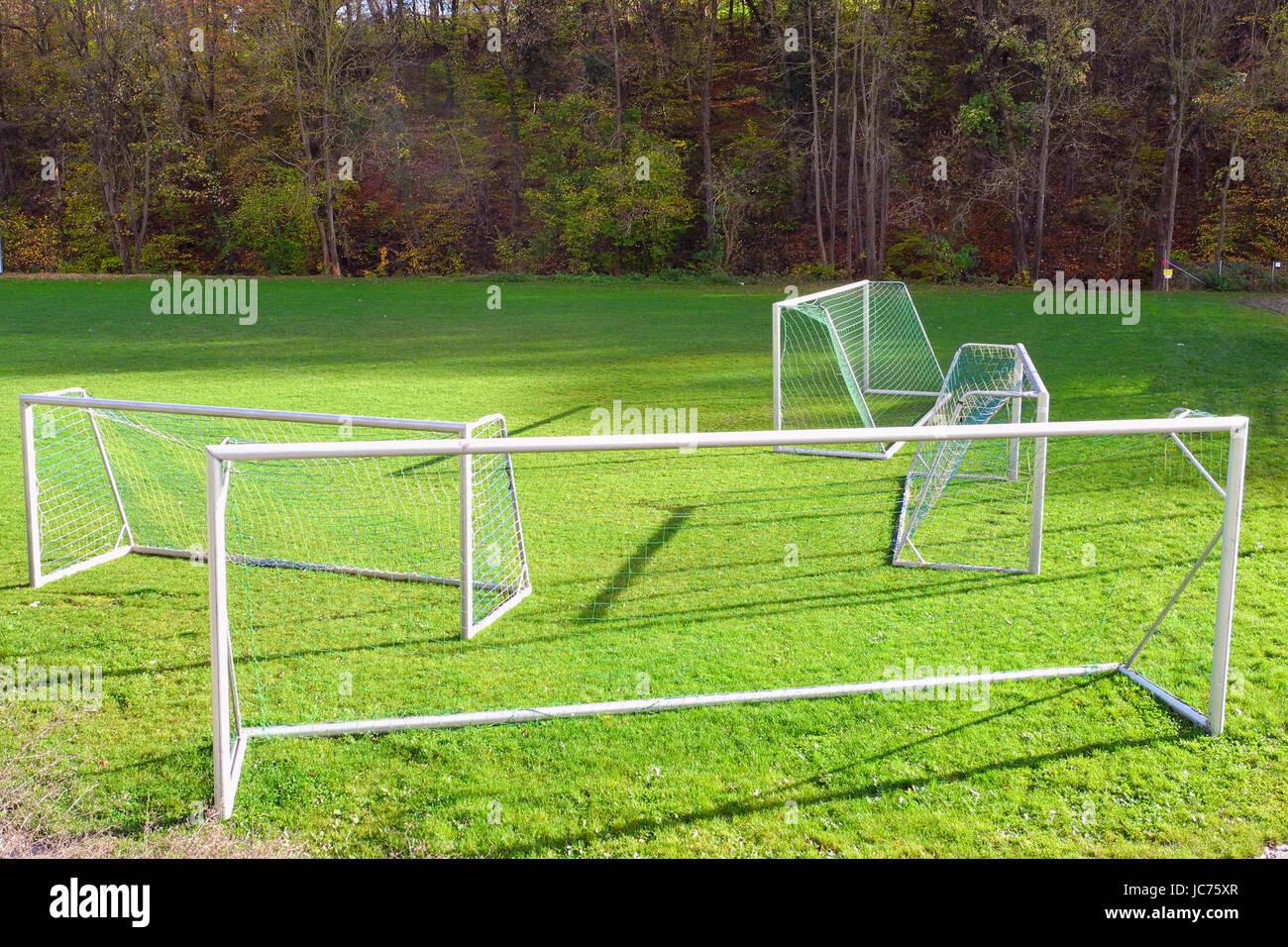 meadow sport - Stock Image
