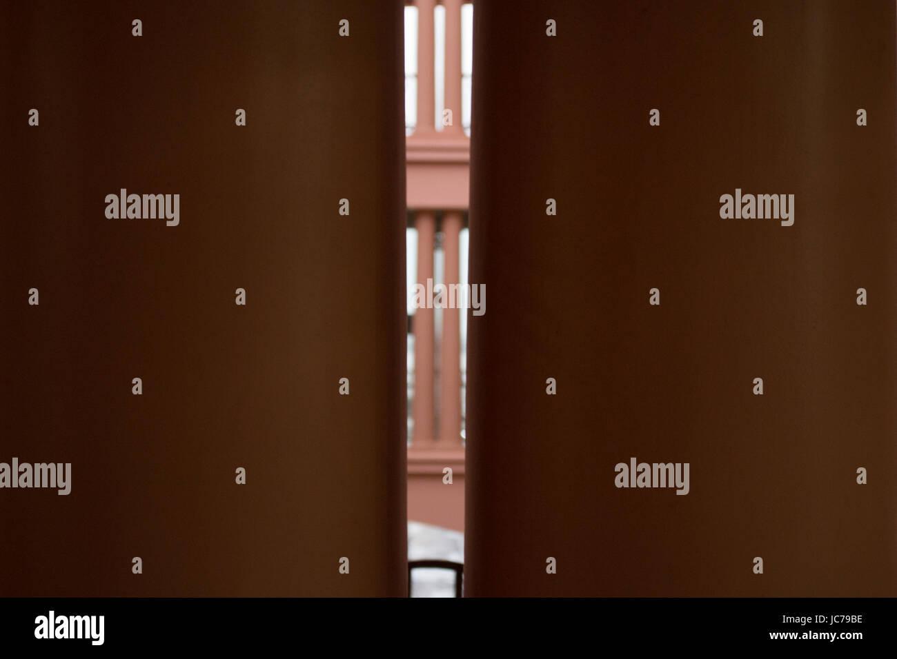 Symmetrical columns - Stock Image