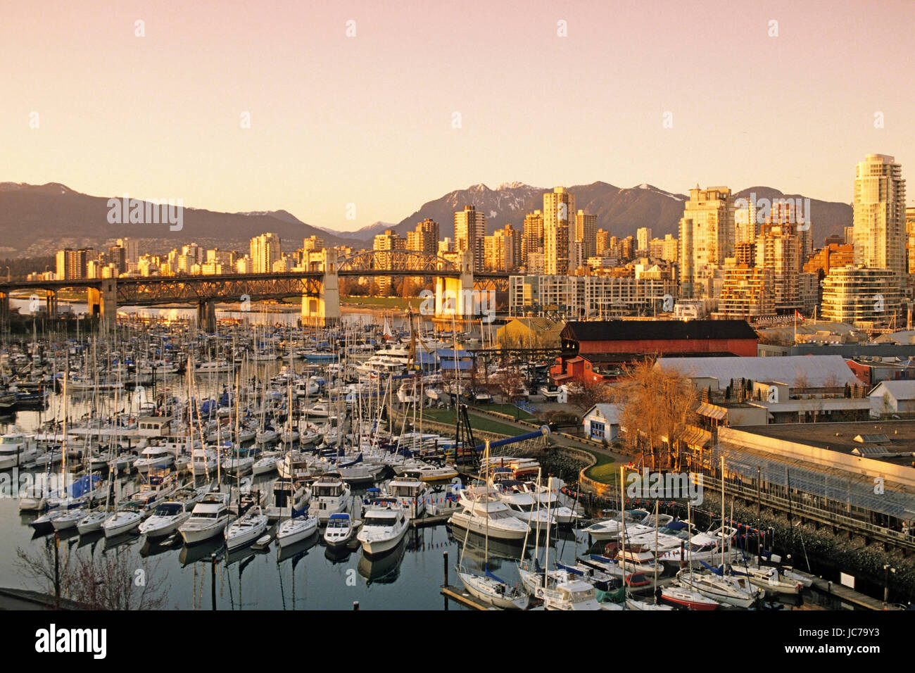 Look at Vancouver, Blick auf Vancouver - Stock Image