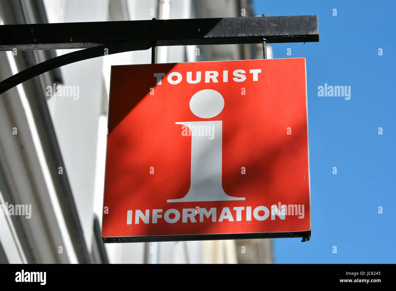 tourist information - Stock Image
