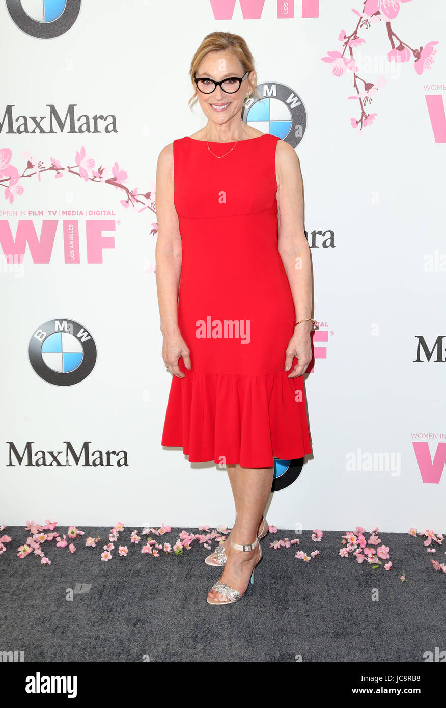 BEVERLY HILLS, CA June 13- Gayle Nachlis, at Women In Film 2017 Crystal + Lucy Awards presented by Max Mara and - Stock Image