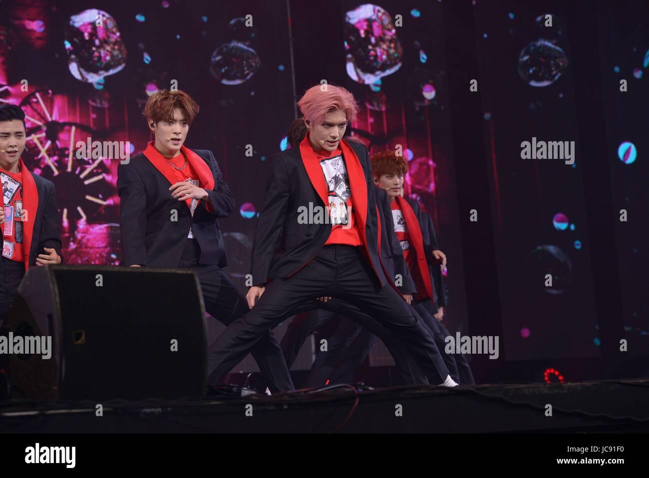 Seoul Korea 14th June 2017 Nct 127 Promotes For Their 3rd Mini