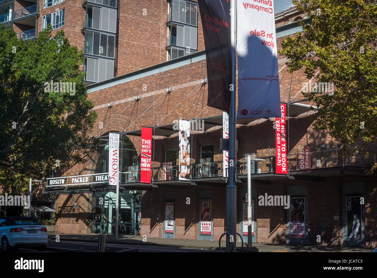 Roslyn Packer Theatre, Walsh Bay, Sydney, NSW, Australia - Stock Image