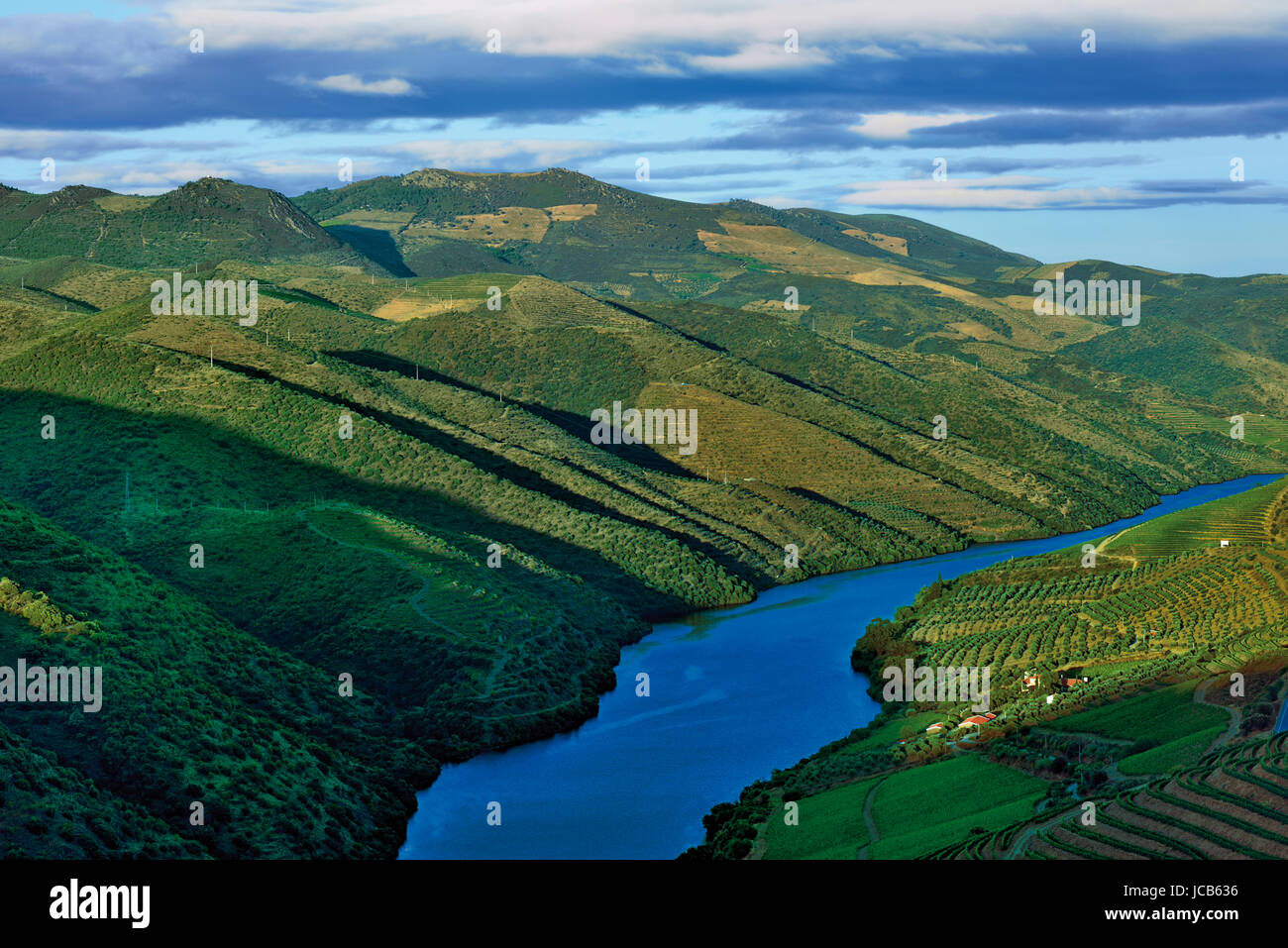 River Douro view - Stock Image