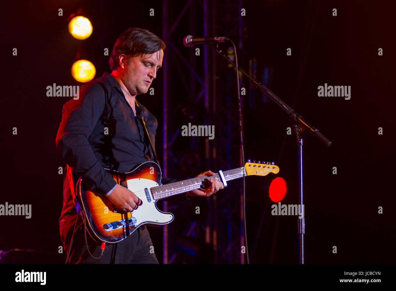 Starsailor at The Isle of Wight Festival 2017 Stock Photo