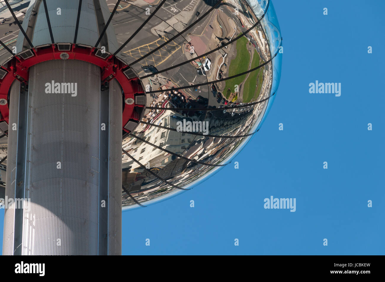 British Airways i360 attraction, Brighton, United Kingdom - Stock Image