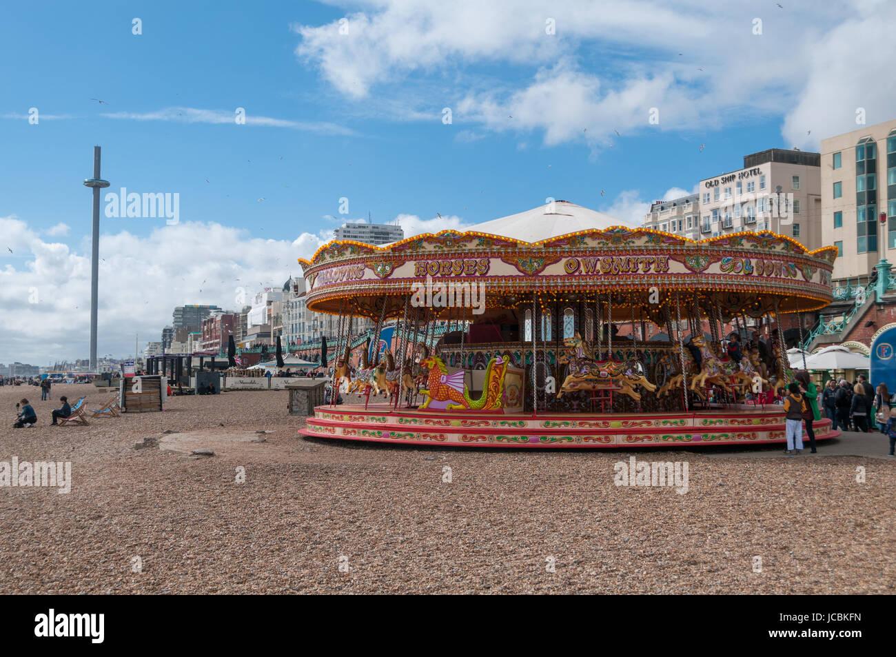 Brighton, United Kingdom - Stock Image