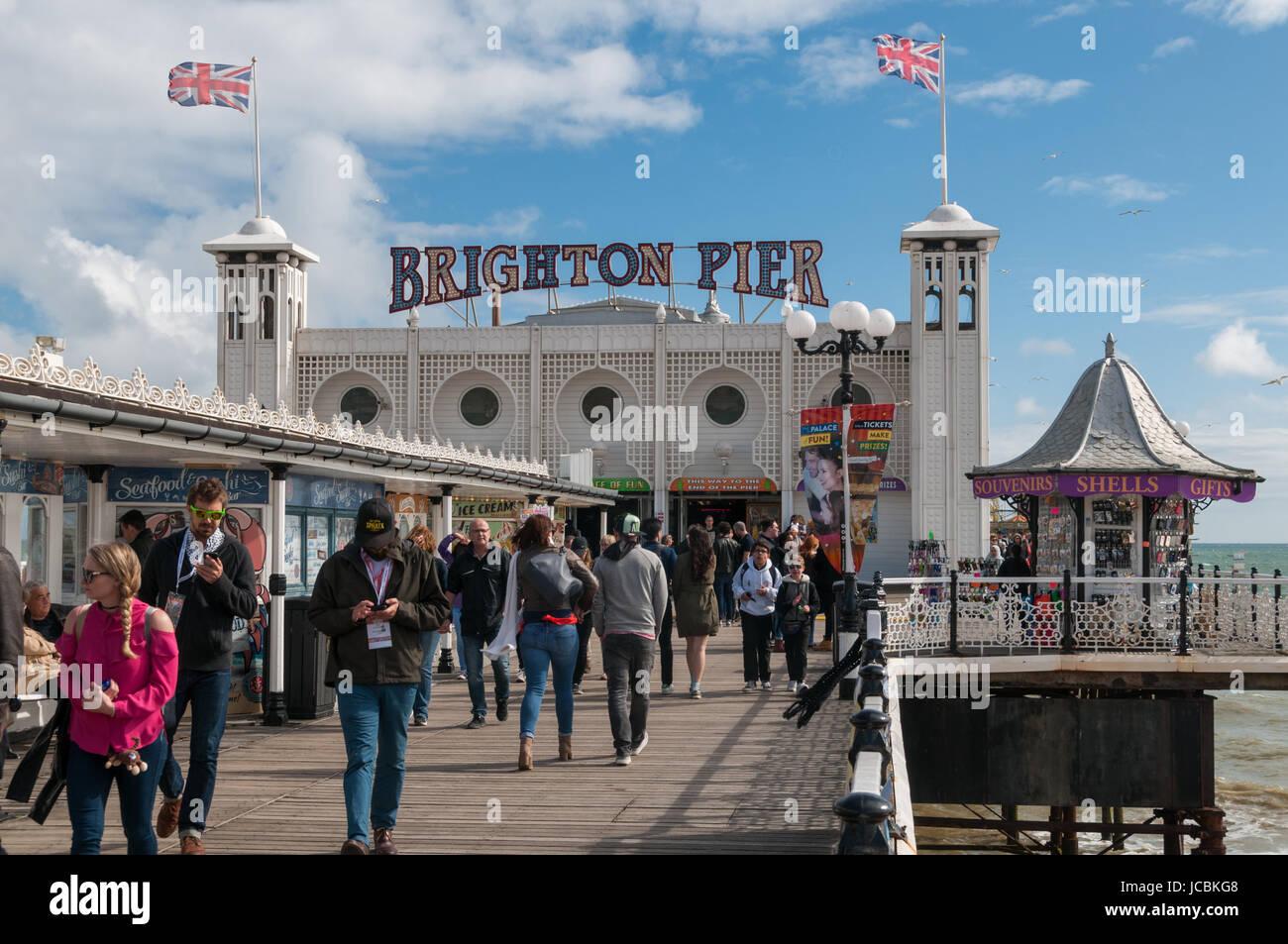 Brighton Pier, United Kingdom Stock Photo