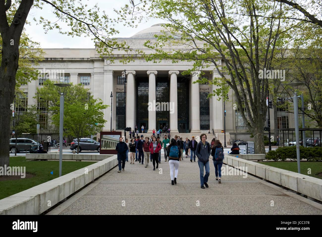 Massachusetts Institute Of Technology Mit Boston Usa Stock Photo