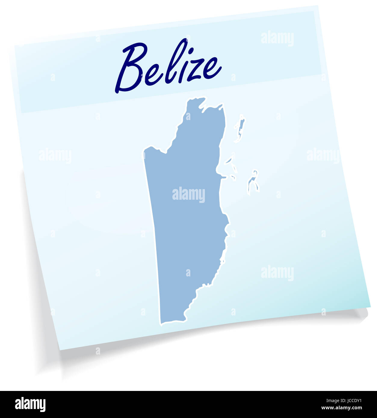 Belize Karte.Karte Von Belize Stock Photos Karte Von Belize Stock