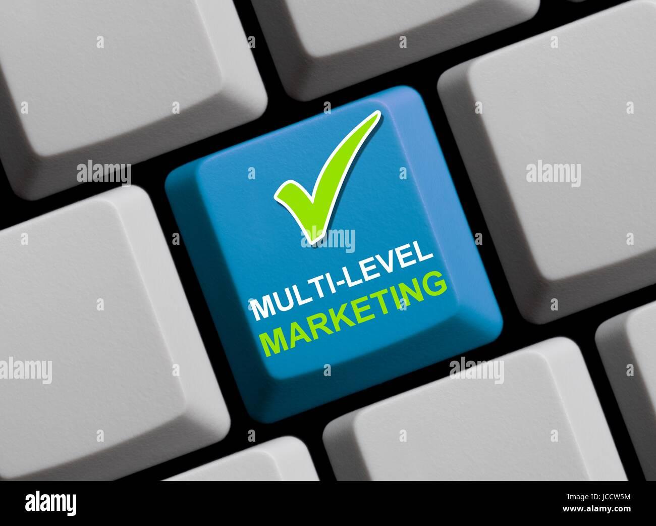 multi-level marketing Stock Photo