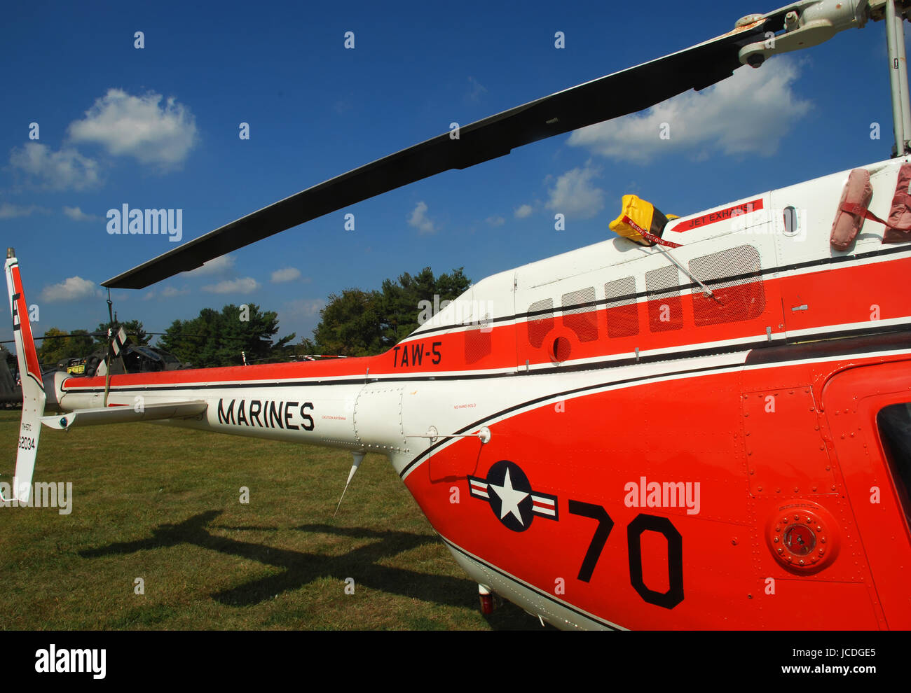pictures of helicopters and other rotary wing aircraft at air show - Stock Image