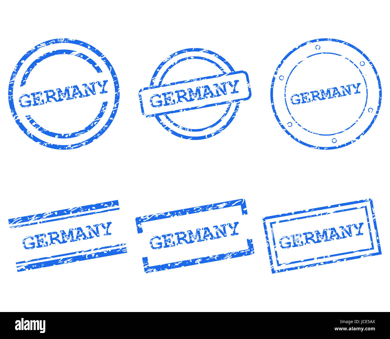 Germany Stempel - Stock Image