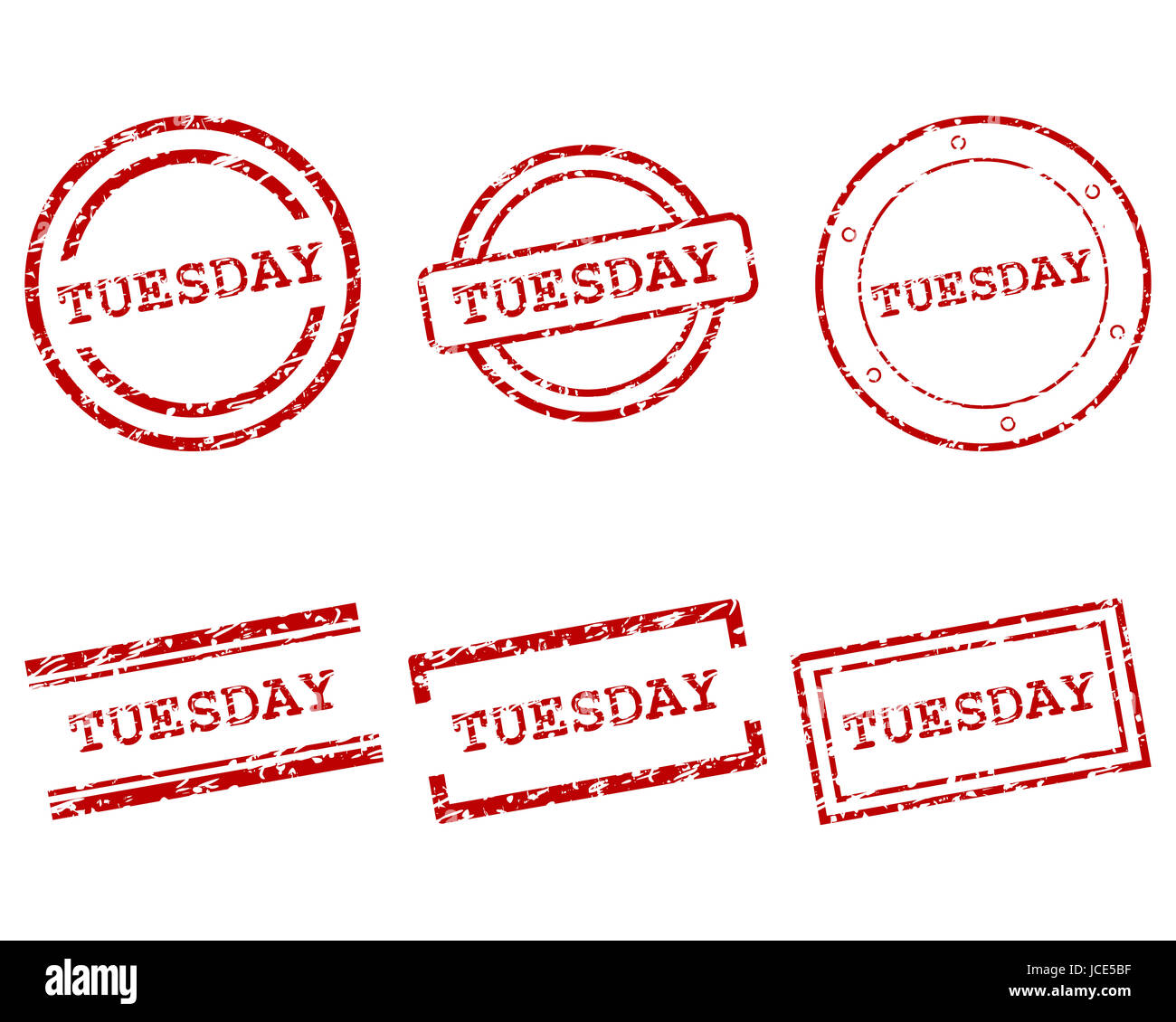 Tuesday Stempel - Stock Image