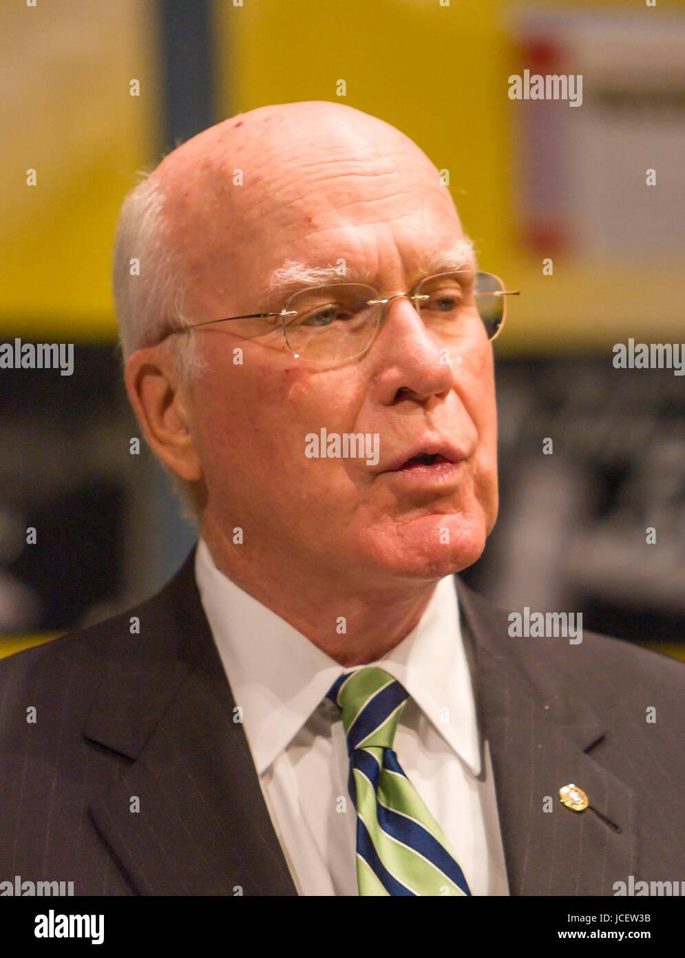 WASHINGTON, DC, USA - United States Senator Patrick Leahy (D-Vermont). Stock Photo