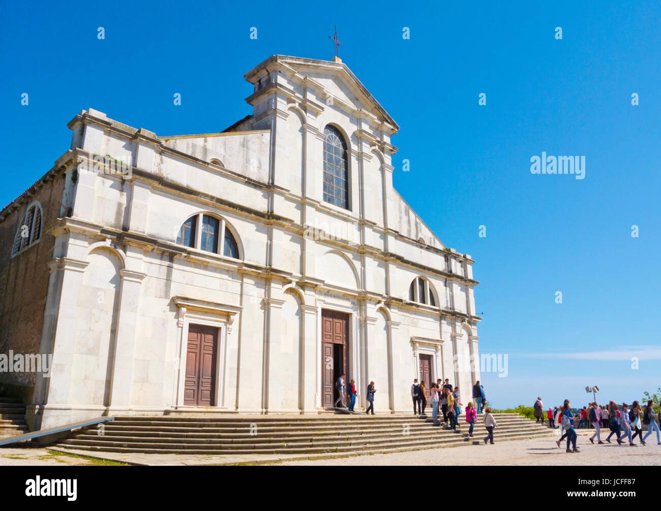 Sveta Eufemija, Saint Euphemia, Rovinj, Istria, Croatia - Stock Image