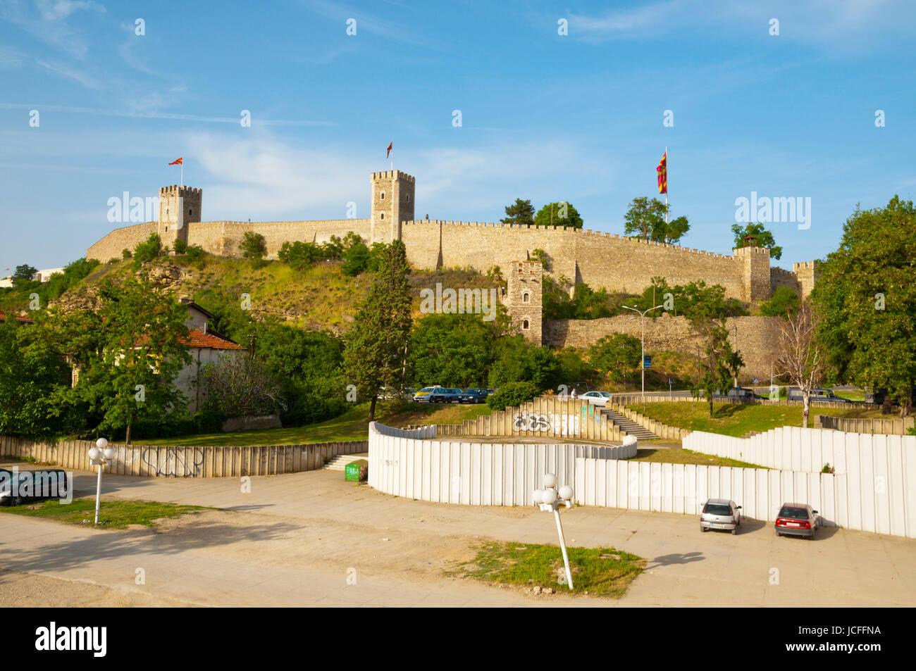 Kale, fortress, Skopje, Macedonia - Stock Image