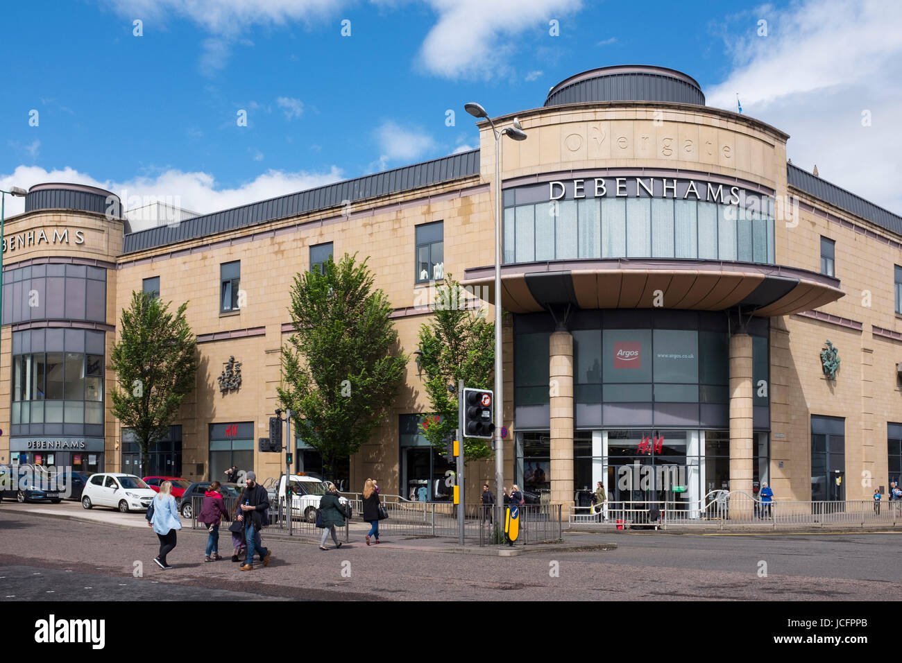 Overgate Shopping Mall in Dundee, Scotland, United Kingdom - Stock Image