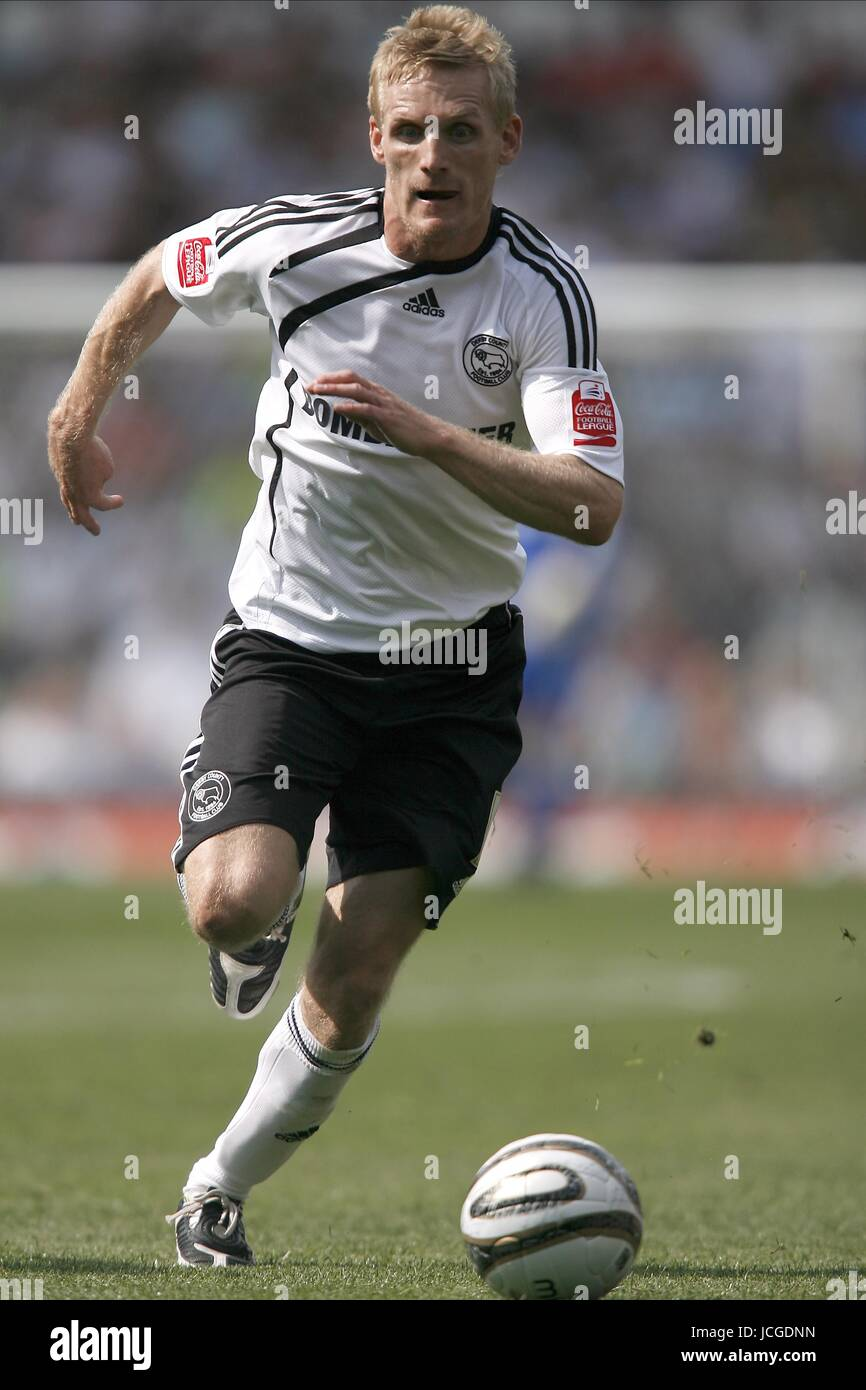 GARY TEALE DERBY COUNTY FC DERBY V PETERBOROUGH PRIDE PARK, DERBY, ENGLAND 08 August 2009 DIY98799     WARNING! - Stock Image